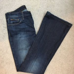 Joes Jeans Dark Flare Visionaire Fit Size 29